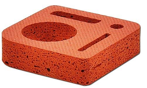 Gaskets in technical foam