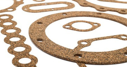 Cork and cork/rubber gaskets