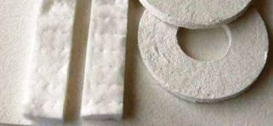 Juntas de cartones y fibras refractarias