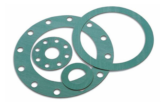 Gaskets and seals in compressed fibre