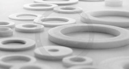 Washers in engineering plastics