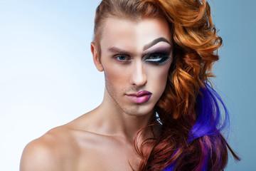Maquillatge masculí, nova tendència