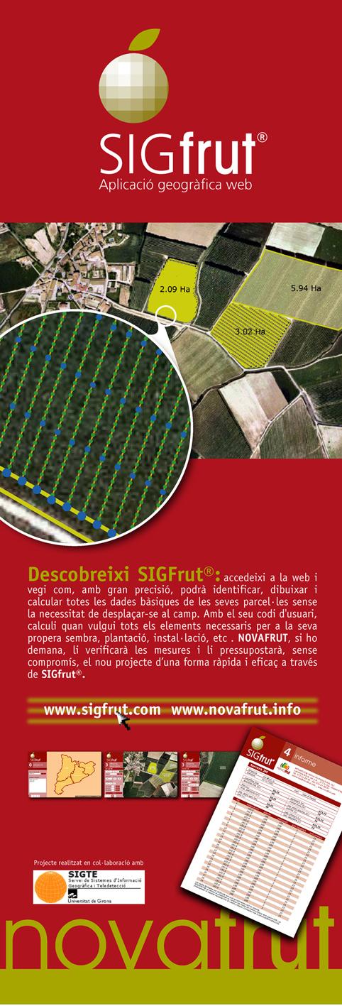 SIGFRUT: Aplicación Geográfica Web de Novafrut