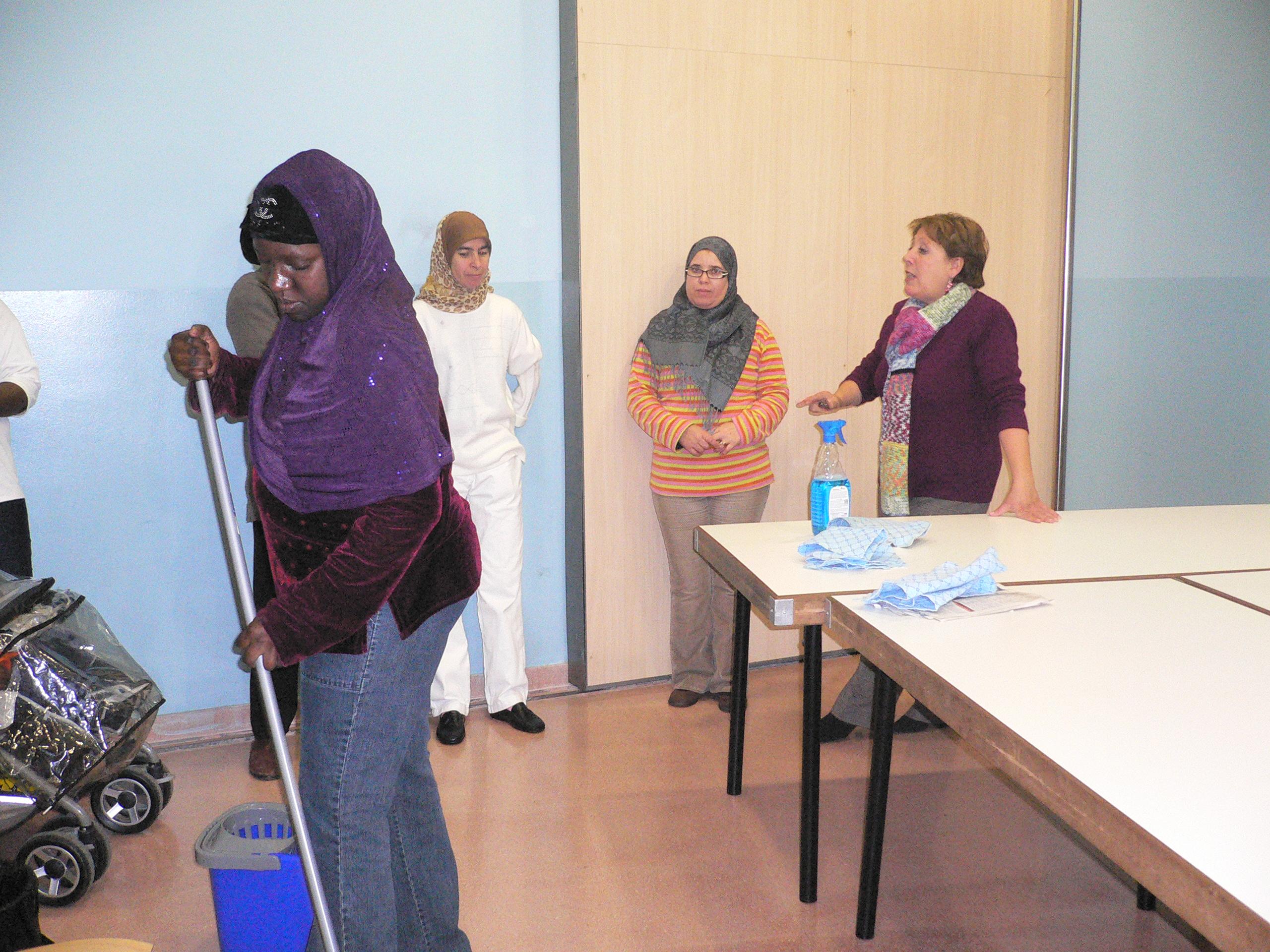 Cursos i tallers d'Inserció Sociolaboral